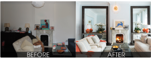 Staging Before & After